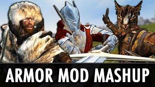Skyrim Mods: Armor Mod Mashup