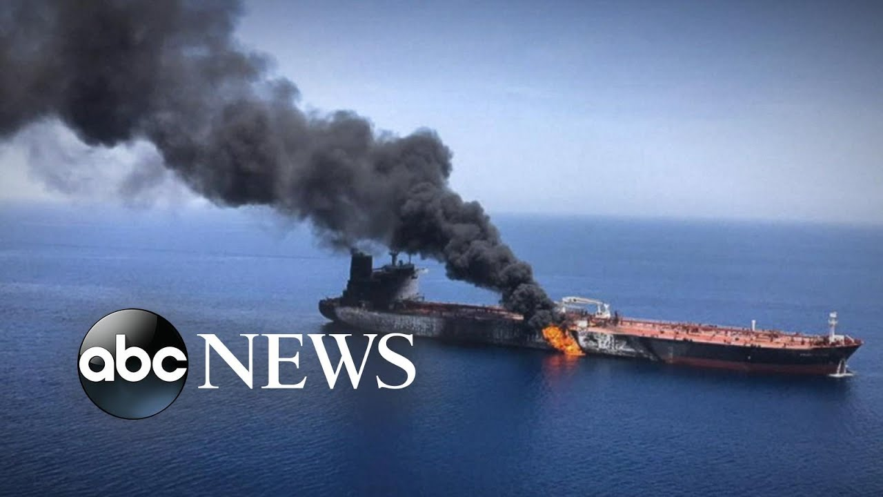 ABC News:US, Iran conflict hardening over attacks on 2 tanker ships