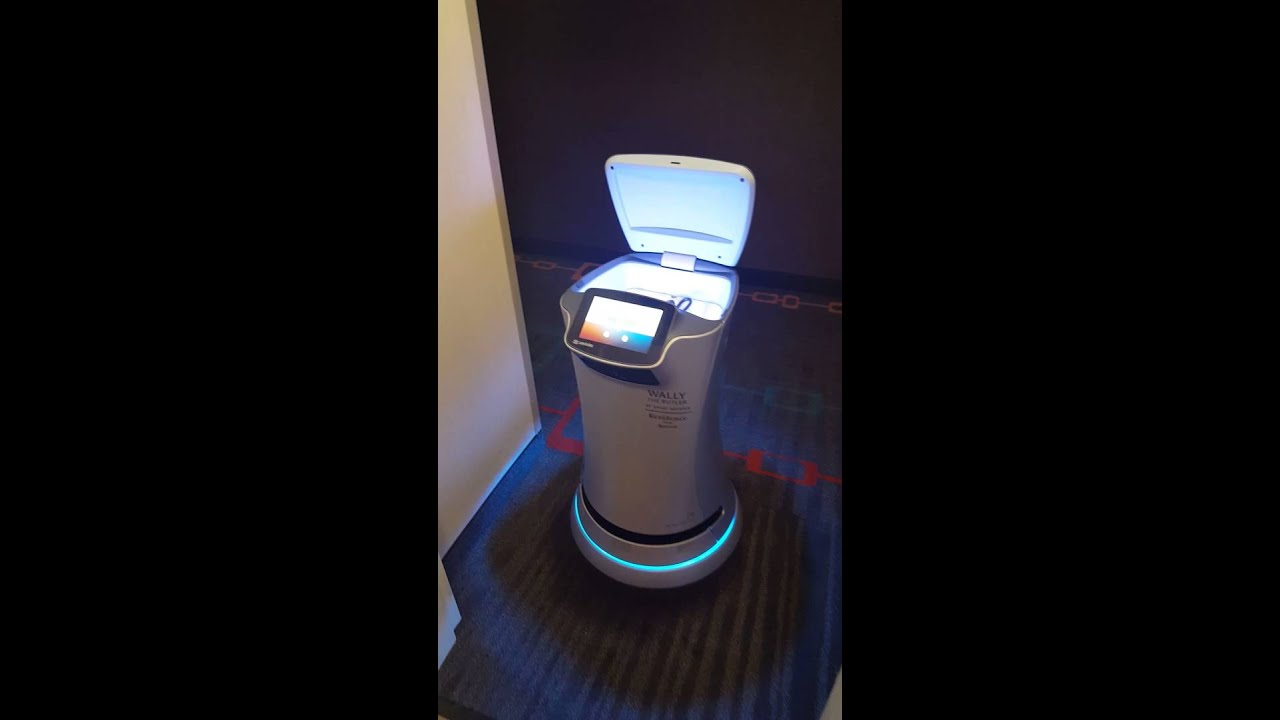 Hotel With Robot Room Service