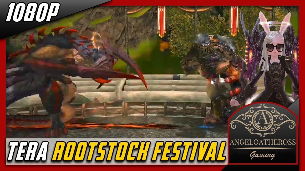 tera online rootstock pond faire festival pc xbox ps4 youtube