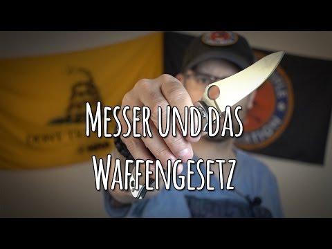 Messer und das Waffengesetz - Führen von Messern - Messer zur Selbstverteidigung? - Let's Shoot #76