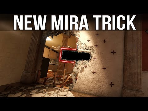NEW Mira Trick In Pro League - Rainbow Six Siege Tips & Tricks + HUGE GIVEAWAY ANNOUNCEMENT!