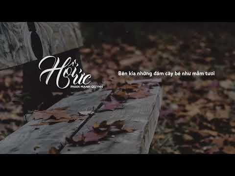 Hồi Ức - Phan Mạnh Quỳnh   AUDIO LYRIC OFFICIAL