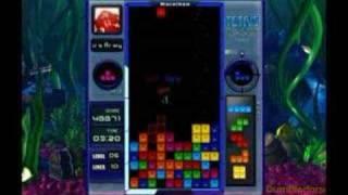 Higher Tetris Splash and Facebook Tetris marathon score