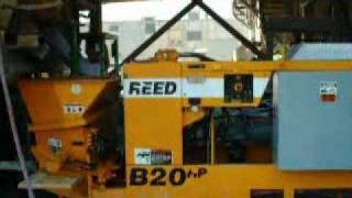 Video still for Reed 350 Ft Vertical ShotCrete Pump