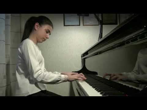 01.05.2020 Alexandra Dovgan in concert of students of Mira Marchenko's class during quarantine