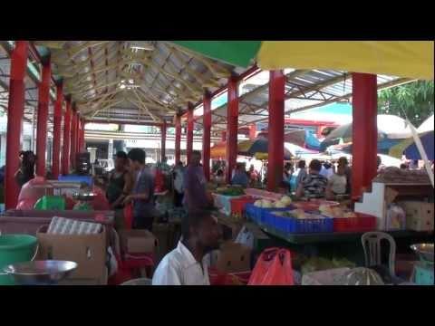 Victoria Market Sir Selwyn Selwyn Clarke Mahe Seychelles