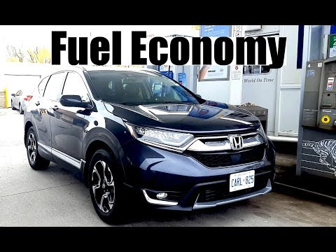 2017 Honda CR-V - Fuel Economy Review + Fill Up Costs
