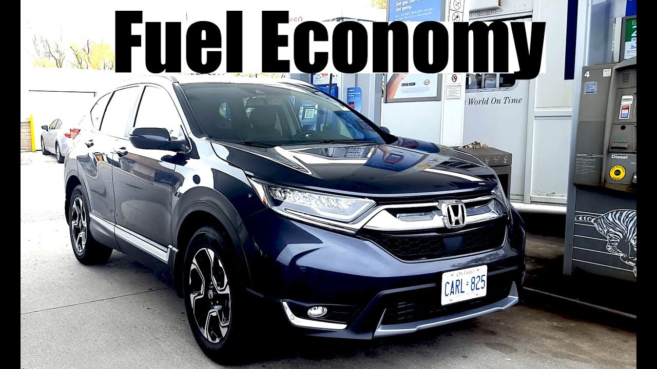 2018 Honda CR-V - Fuel Economy MPG Review + Fill Up Costs - YouTube