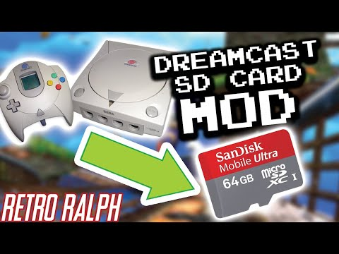 Dreamcast SD Card Mod!