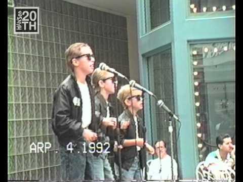 HANSON Tulsa Mayfest Audition 1992