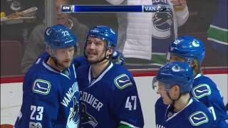Baertschi steals, fakes, dekes and beats Greiss