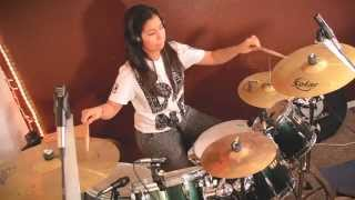 Alexandra - Andy Mineo - Uncomfortable (Drum Cover)