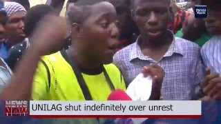 UNILAG shut down after Students Protest