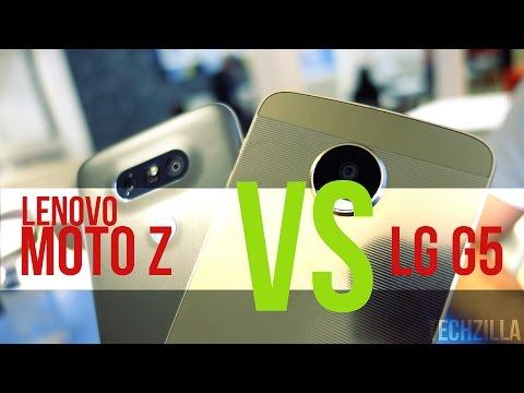 Lenovo Moto Z Vs LG G5 | IFA 2016