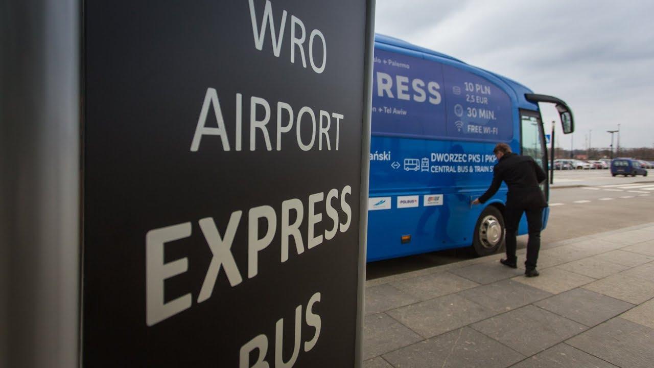 Ruszył ekspresowy autobus na lotnisko