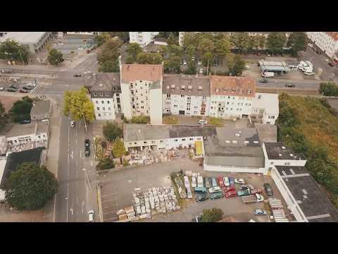 Lalaland Kassel von oben! Luftaufnahmen, Drohnenflug, Camping, Kassel, Übernachtung, Documenta 14