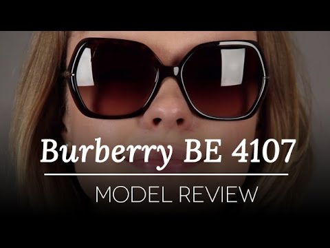 c42efb46af04 Burberry BE4107 Sunglasses Review - Burberry Trench Collection - YouTube