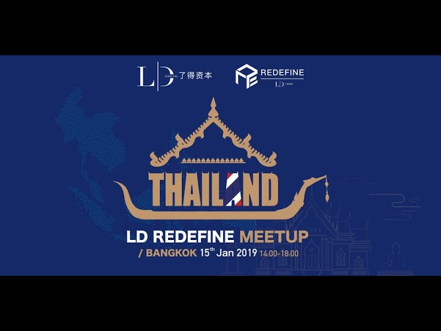 CryptoEvent - LD Redefind Meetup in Thailand by CRYPTONIST at KX Building Thailand (150119)