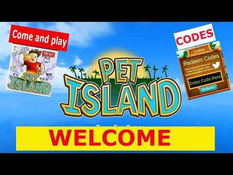 [UPDATE!] PET ISLAND ROBLOX   CODES 2020