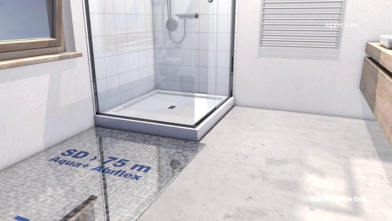 How To Install Egger Aqua Laminate Flooring In Bathroom Youtube