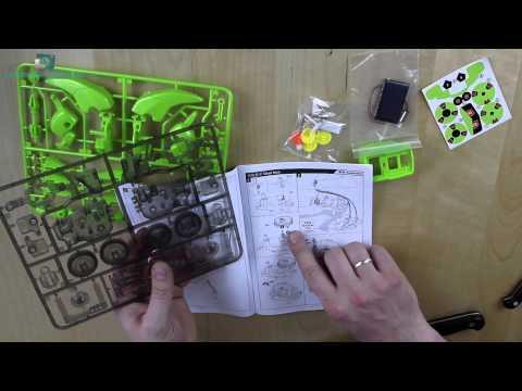 Spielzeuge für Geeks #1 Solar Robot - deutsch