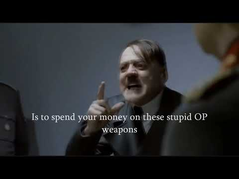 Hitler finds out about the new Modern Combat 5 update