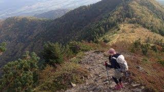 四阿山に鳥居峠から登山してきました。2013 09 28