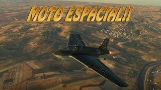 Moto Espacial! ME -163 B War Thunder RB