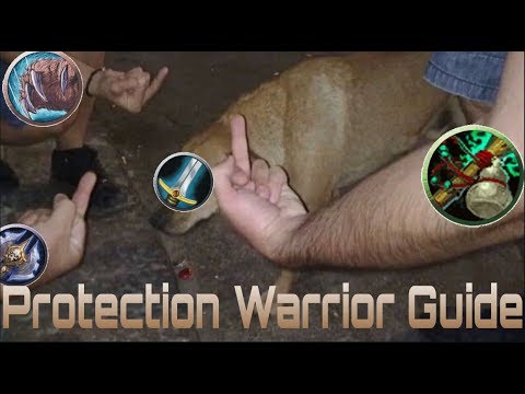 BFA 8 1 5* |Protection Warrior Guide|Talents/Azerite/Rotation (Still  relevant)