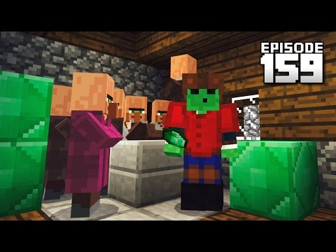 Let's Play Minecraft PE - Ep.159 : 1.0.4 Villager Trading!