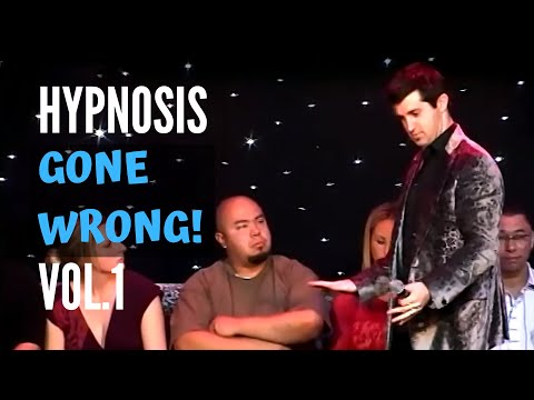 Hypnosis Gone Wrong - Hypnosis Video!