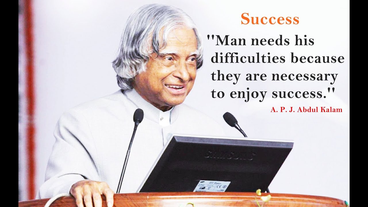Dr Abdul Kalam Quotes Wallpapers My Childhood Youtube