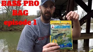 Everything You Need to Catch CRAPPIE....bass pro creme book