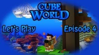 Cube World Let's Play Episode 4- Trolled by Cube World