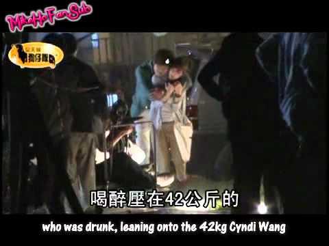 [Eng Sub] Mike He & Cyndi Wang Filming BTS 2