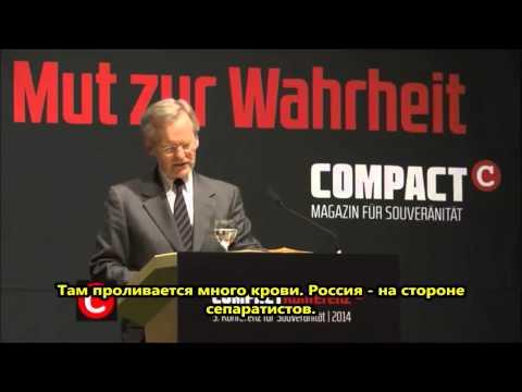 Немецкий профессор: Запад не прав, обвиняя Россию в аннексии Крыма