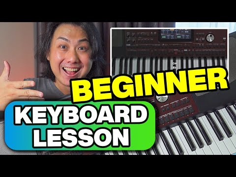 Keyboard Piano Lessons Part 1 – Getting Started