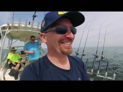 2017-06-04 Lake Erie Walleye Fishing
