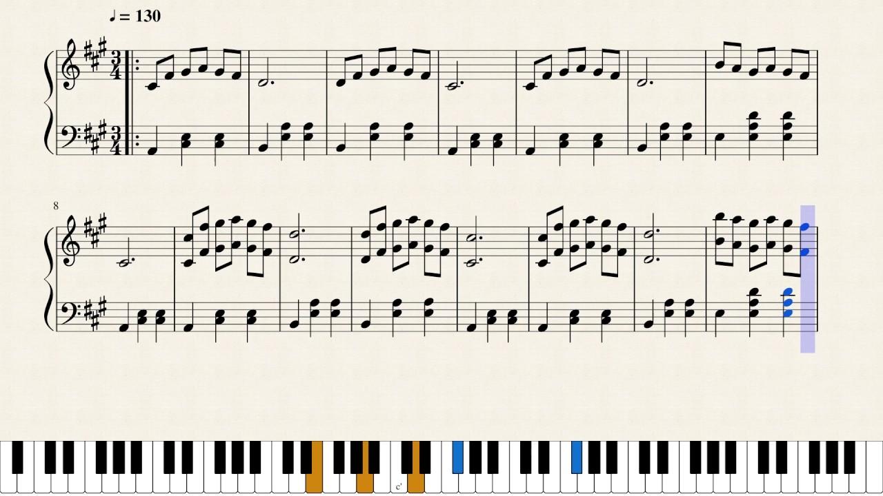 La La Land Mia And Sebastian S Theme Piano Sheet Music