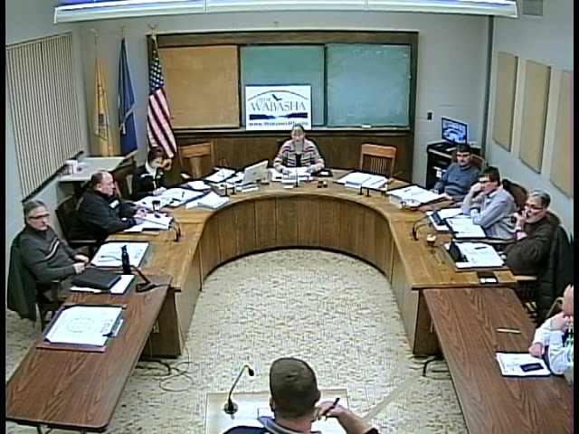 02 11 19 Wabasha City Council Meeting
