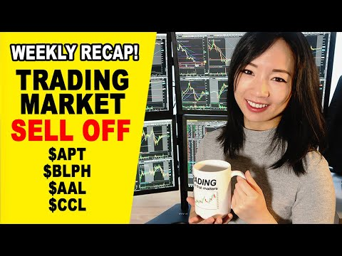 Stock Market Sell Off- Penny Stock Gapper Short $APT $BMRA $BLPH Day Trading Recap