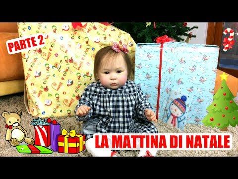 La Mattina di Natale con Matilde Bambola Reborn || PARTE 2 - Apriamo i Regali