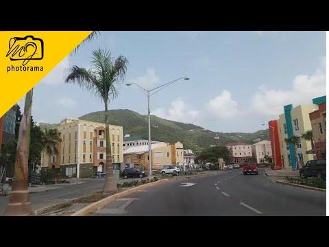 Driving Around Road Town, Tortola British Virgin Islands 202