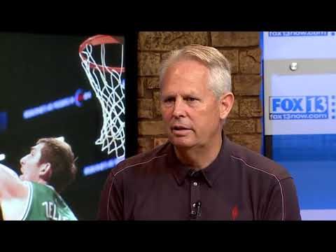 Danny Ainge on 3 Questions with Bob Evans