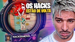 OS HACKS ESTÃO DE VOLTA NO FREE FIRE