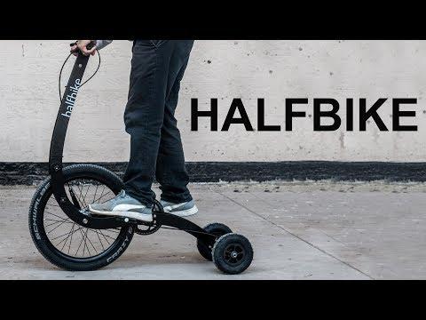 Rear Wheel Steering Halfbike || Mail with Mike