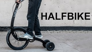 Rear Wheel Steering Halfbike || Mail with Mike