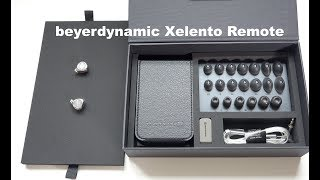 beyerdynamic Xelento Remote Tesla In-Ear Headphones Unboxing