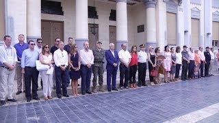 Melilla guarda cinco minutos de silencio por las víctimas del atentado de Barcelona